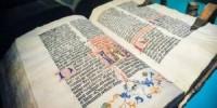 В РГБ представили Библию Иоганна Гутенберга