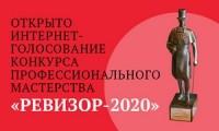 Стартовало онлайн-голосование конкурса «Ревизор-2020»