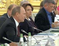 Путина попросили помочь в оцифровке 100% издаваемых в России книг