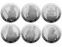 Монетный двор Новой Зеландии решил выпустить монеты с изображением героев Толкина